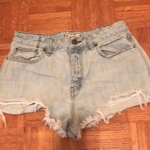 Free people shorts 31